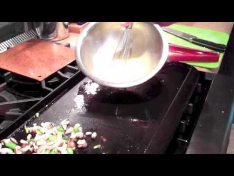 Griddle Omelet With Vegetables With Jeffrey Saad