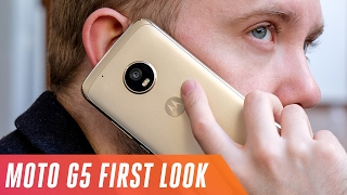Moto G5 and Moto G5 Plus first look