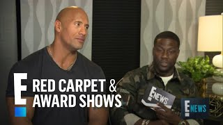 Kevin Hart & Dwayne Johnson Interview Each Other! | E! Live from the Red Carpet