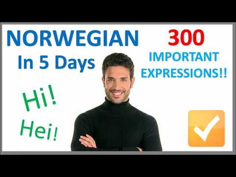 Learn Norwegian in 5 Days - Conversation for Beginners
