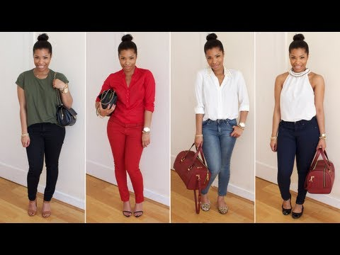 HOW I WEAR: Skinny Jeans | LOOKBOOK