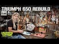 Triumph 650 Motorcycle Engine Disassembly & Rebuild Part 9 - Lowbrow Customs