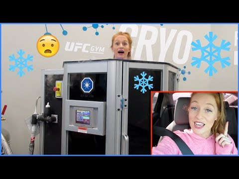 UFC GYM VLOG- FULL BODY WORKOUT, CRYOTHERAPY, AND COMPRESSION BOOTS!