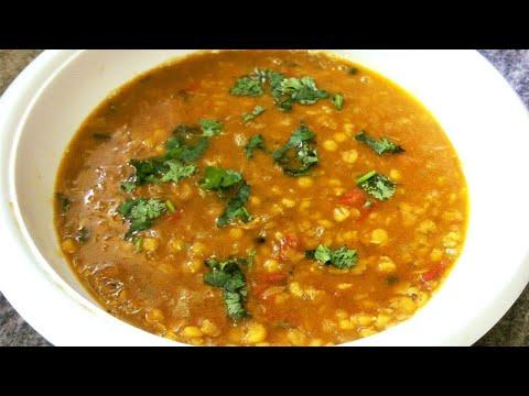 Chana Dal Fry (Daal Tadka) Recipe In Hindi With English Subtitles