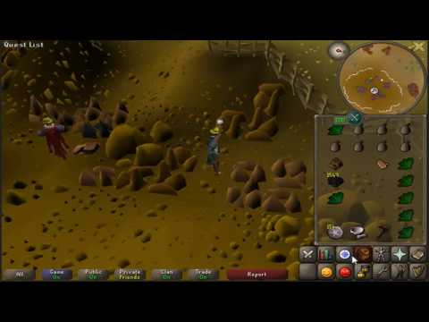 OSRS: Lynx Titan doing quarry mining and learning 3-tick!