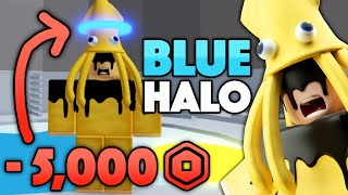 I BOUGHT a BLUE HALO for 5,000 ROBUX!!! (Tower of Hell) | Roblox