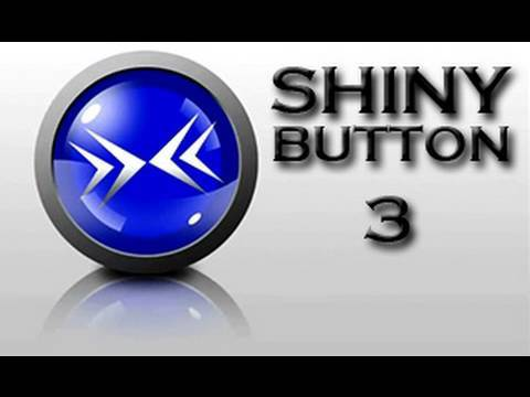 Shiny Button (Part 3/3) - Photoshop CS5 Intermediate Tutorial