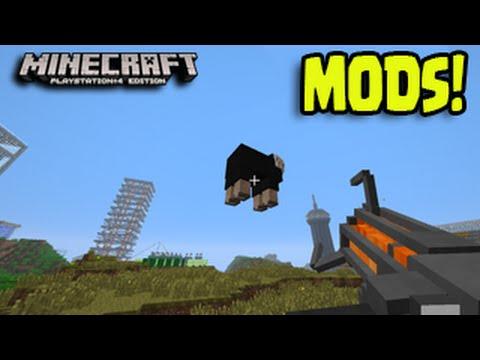 Minecraft PS3, PS4, Xbox, Wii U - MOD PACKS Title Update PC Console Mods!