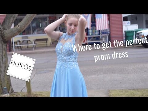 Where to Get the Perfect Prom Dress! (Hebeos)