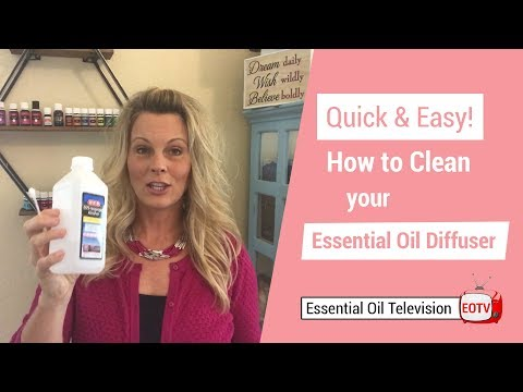 Quick & Easy Tip for Cleaning Your Essential Oil Diffuser