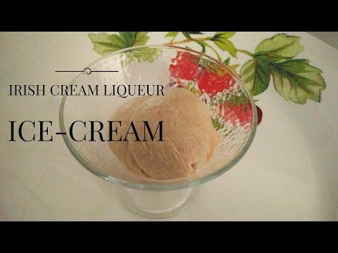 Easy Homemade Irish Cream Liqueur Ice Cream (No Eggs/ No Ice Cream Machine)