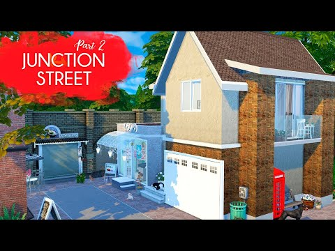 JUNCTION STREET (Part 2) Sims 4 || Speed Build || Simsbiosis