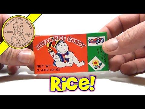 Botan Rice Candy & Sticker Review