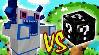 YETI MUTANTE VS. SUPER LUCKY BLOCK (MINECRAFT LUCKY BLOCK CHALLENGE)