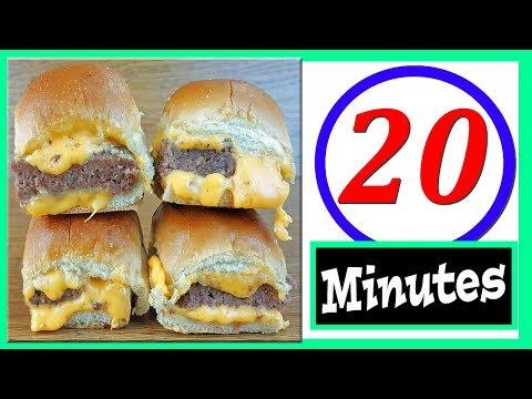 How To Make Cheeseburger Sliders