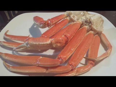 Snow Crab Legs ( with Puerto Rican flavor)