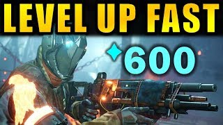 Destiny 2: How To Level Up Fast In Forsaken!