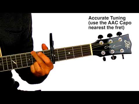 AAC CAPO  - All Around Capo for Electric, Acoustic, Nylon, 12 string guitars