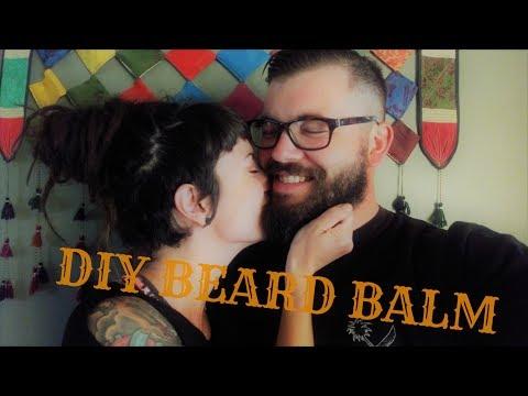 DIY All-Natural BEARD BALM