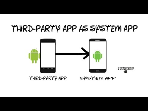 HOW TO INSTALL THIRD-PARTY APP AS SYSTEM APP ON ANDROID