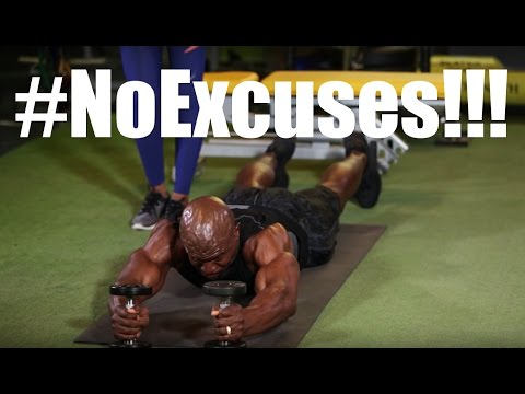 FITNESS FRIDAYS with TERRY CREWS - #NOEXCUSES!!!