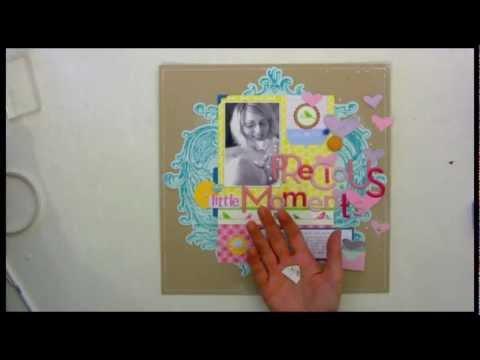Make your own photo corner embellishments