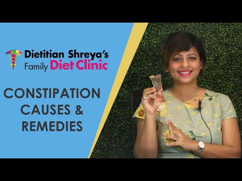 Constipation causes and how to get rid of this -Dietitian Shreya