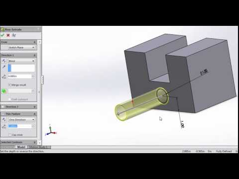 Solidworks Extrusions