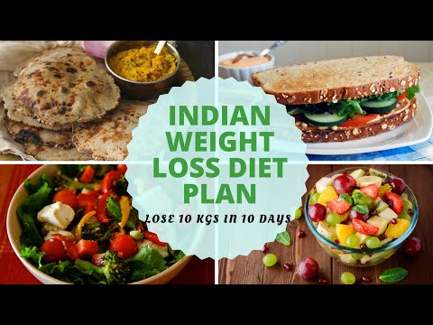 How To Lose Weight Fast 10Kg in 10 Days   Full Day Indian Diet/Meal Plan For Weight Loss