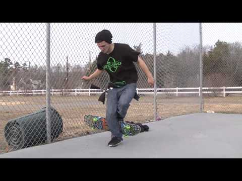 Flamingo Skateboard Trick