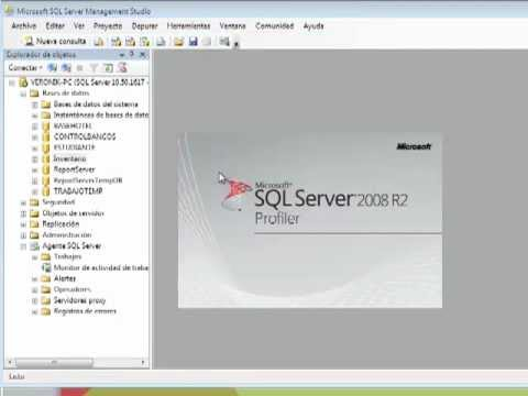 Monitoreo de Rendimiento en SQL SERVER 2008.mp4