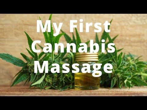 My First Cannabis Massage. Will I Get High? - Massage Monday #379