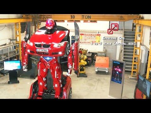 Letrons - Turkish Transforming Car Robot Promo [1080p]