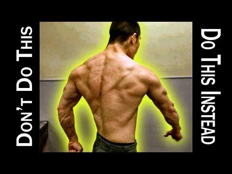 Back Workout for a bigger back - Bodybuilding