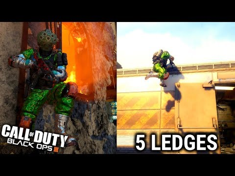 »» 5 Ledges & High Ledges | Breach & Exodus ▬  Black ops 3 Glitches ▬ CRDoritos ««