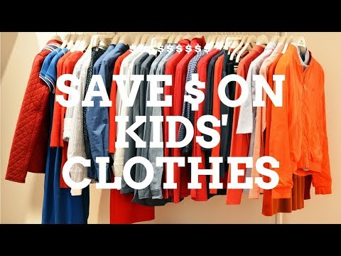 Save Money on Kids' Clothing with Thrift, Consignment, and Resale Shops