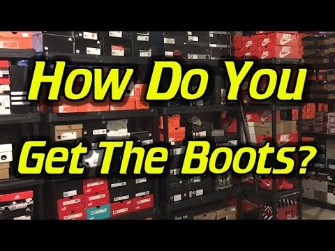 How Do You Get So Many Soccer Cleats/Football Boots?