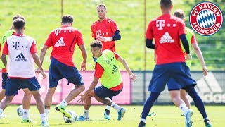 FC Bayern Public Training Session after Top Match vs. RB Leipzig!