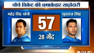 Ind vs Eng, 3rd T20I: MS Dhoni, Suresh Raina Hit 50s, India Put 202 Runs on Board