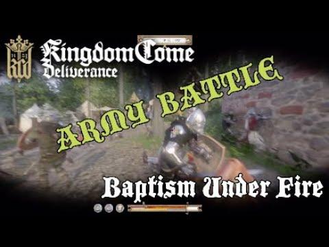 Kingdom Come Deliverance Baptism Under Fire (the death of Runt)