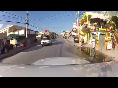 Driving Punta Cana