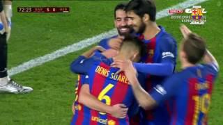 Barcelona vs Hércules [7-0][21/12/2016][Copa del Rey | 6ª ronda] EL BARÇA JUGA A RAC1