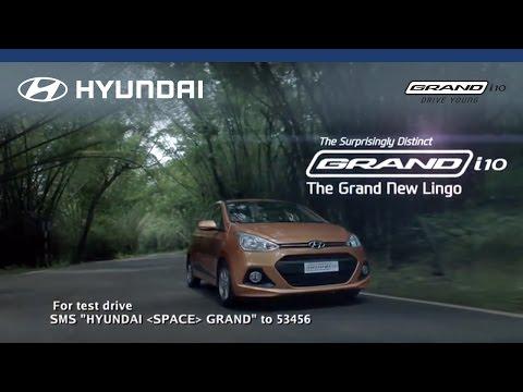 Hyundai | Grand i10 | The Grand New Lingo - Surprisingly Distinct | Television Commercial (TVC)