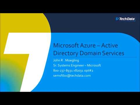 Microsoft Azure Active Directory Domain Services