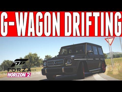 Forza Horizon 2 Drift Build : 800HP Mercedes-Benz G-65 AMG