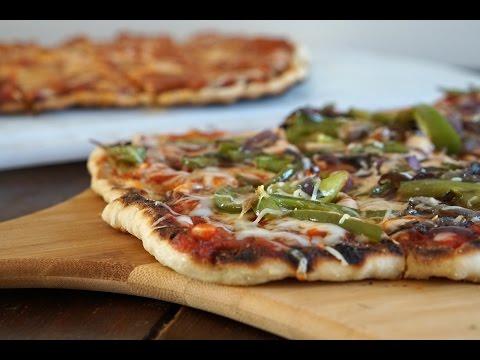 Weber Q: Grilled Pizza