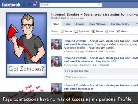 How admin privacy works on Facebook Pages (video)