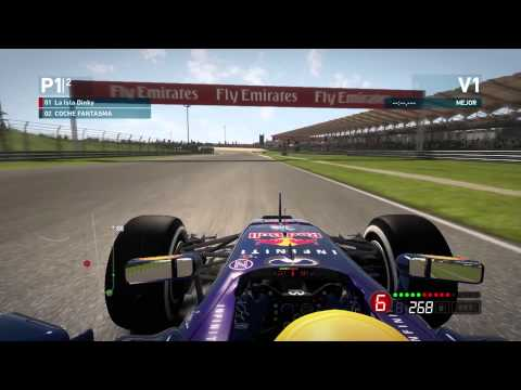 F1 2014 - Codemasters - Time Trial - Malaysia - Red Bull - Xbox 360