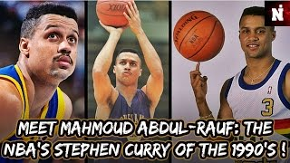 Meet Mahmoud Abdul-Rauf: The Stephen Curry Of The 1990's ! (2/2)