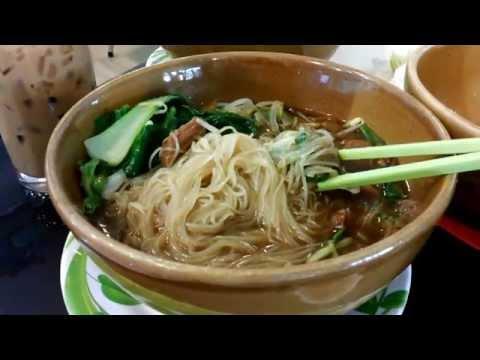 Asian Street Food - Eating Street Noodles - Kuy Teav - Cambodian STreet Foos - Youtube